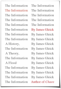 gleick the information